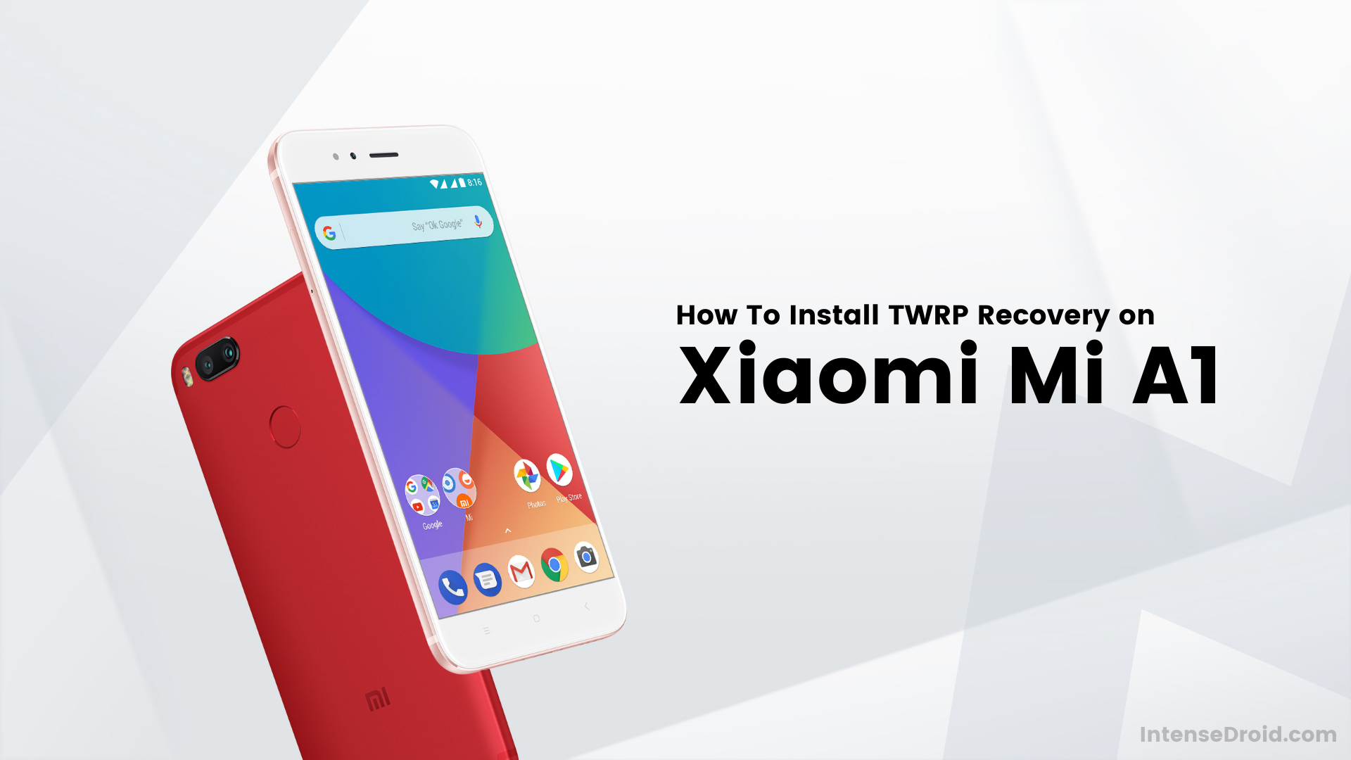 How To Install TWRP Recovery on Xiaomi Mi A1 (Tissot)