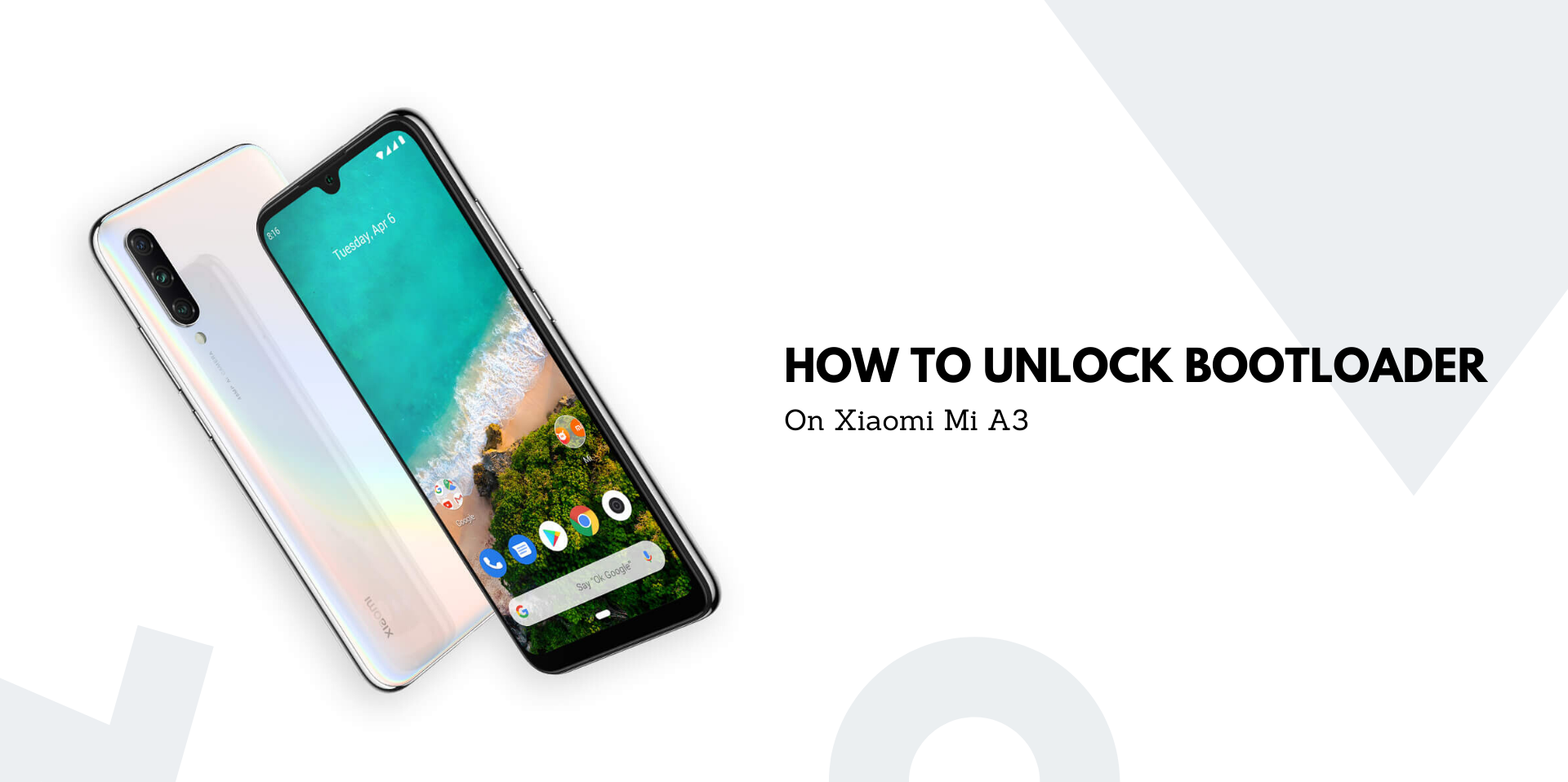 How To Unlock Bootloader On Xiaomi Mi A3
